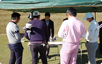 ゴルフ業界で働く